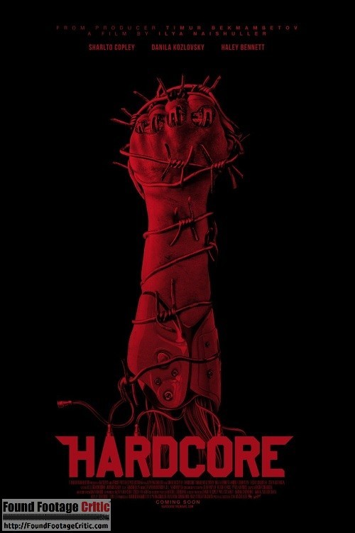 Hardcore (2015) - Found Footage Films Movie Poster (Found Footage Horror)