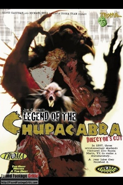 Legend of the Chupacabra (2000) - Found Footage Films Movie Poster (Found Footage Horror)