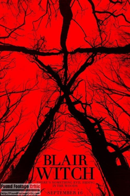 Blair Witch (2016) - Found Footage Films Movie Poster (Found Footage Horror)