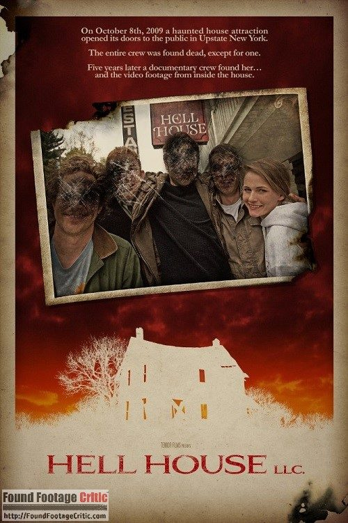 Hell House LLC (2016) - Found Footage Films Movie Poster (Found Footage Horror)