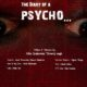 The Diary of a Psycho (2017) - Found Footage Films Movie Poster (Found Footage Horror)