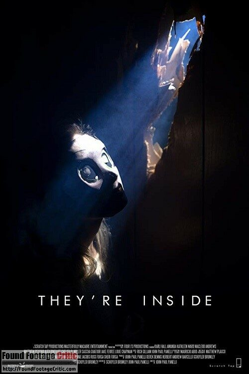 They're Inside (2019) - Found Footage Films Movie Poster (Found Footage Horror Movies)
