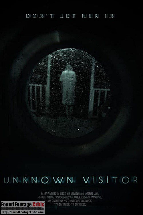Unknown Visitor (2019) - Found Footage Films Movie Poster (Found Footage Horror Movies)