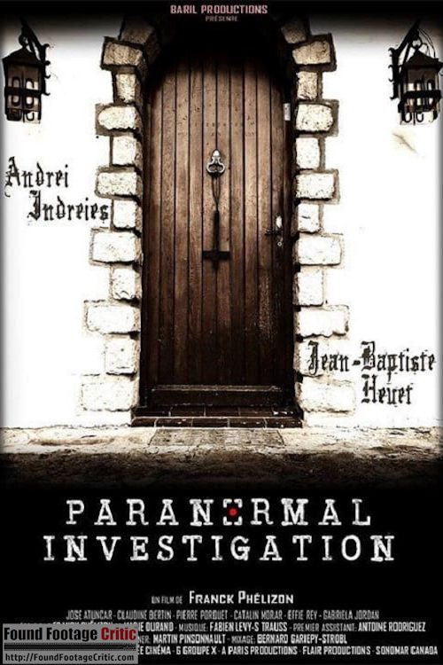 Paranormal Investigation (2018) - Found Footage Films Movie Poster (Found Footage Horror Movies)