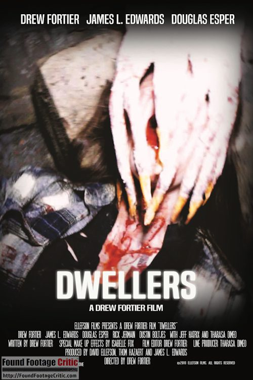 Dwellers (2021) - Found Footage Films Movie Poster (Found Footage Horror Movies)