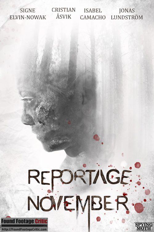 Reportage November (2021) - Found Footage Films Movie Poster (Found Footage Horror Movies)