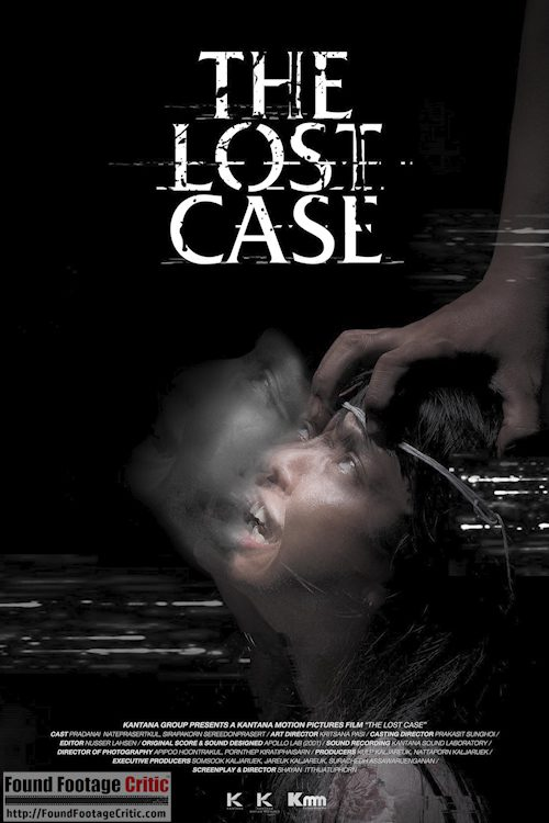 The Lost Case (2017) - Found Footage Films Movie Poster (Found Footage Horror)